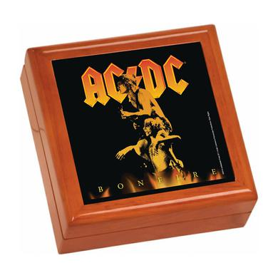 AC/DC Bonfire Wooden Keepsake Box
