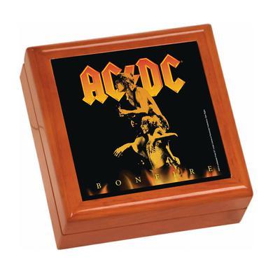 AC/DC Bonfire Wooden Keepsake Box