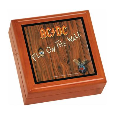 AC/DC Fly On The Wall Wooden Keepsake Box