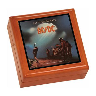 AC/DC Let There Be Rock Wooden Keepsake Box