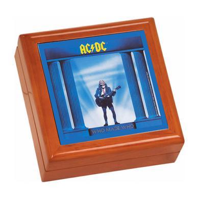 AC/DC Who Made Who Wooden Keepsake Box