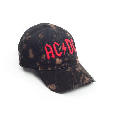 AC/DC Distressed Red Logo Hat