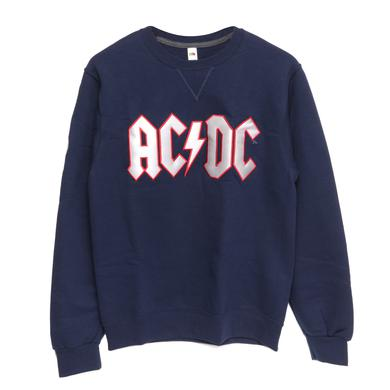 Team AC/DC Foxborough Crew Neck Fleece Sweatshirt S