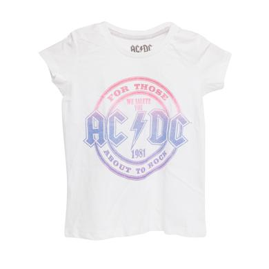 AC/DC For Those About To Rock 1981 Glitter Girls T-Shirt