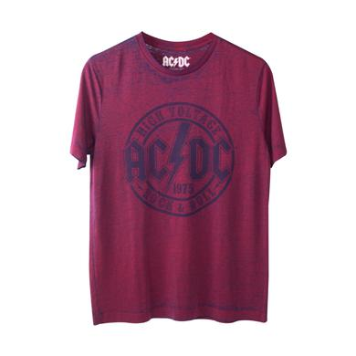 AC/DC Men's High Voltage Stamp Muscle T-Shirt
