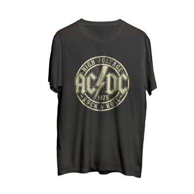 AC/DC High Voltage Rock and Roll T Black