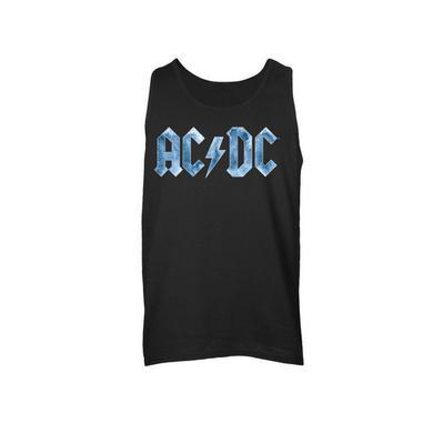 AC/DC Ice Logo Sleeveless Unisex Muscle Tee