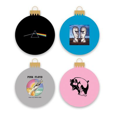 Pink Floyd Holiday Ornament 4-Pack