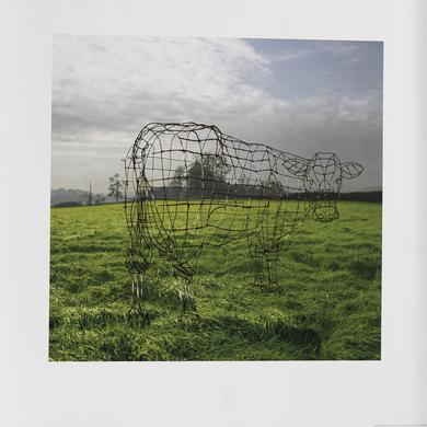 Pink Floyd Atom Heart Mother Wireframe Fine Art Print