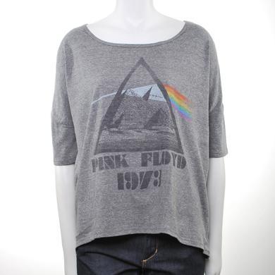 Pink Floyd Women's 73 Prism & Mountains Tunic T-Shirt