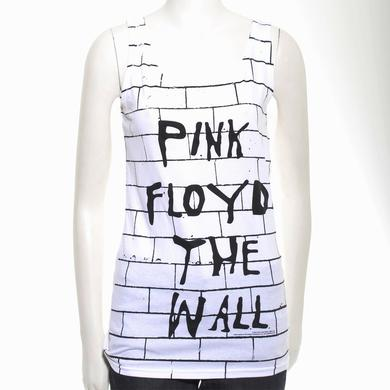 Pink Floyd Women's Wall Brick Print Tank Top