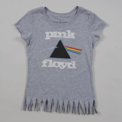 Pink Floyd Women's Fringed Classic Logo T-Shirt