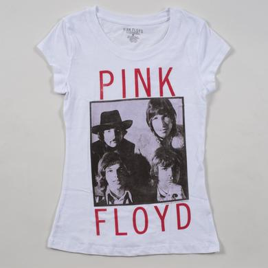 Pink Floyd Juniors Early Band Photo T-Shirt