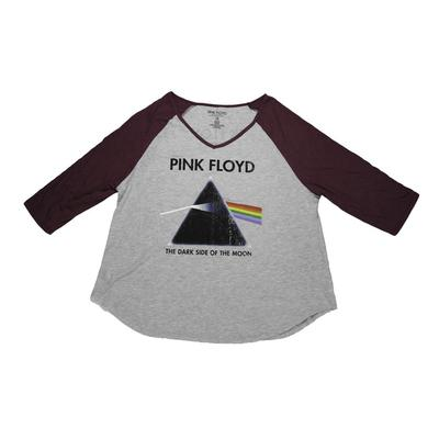 Pink Floyd Women's Dark Side Rose Raglan