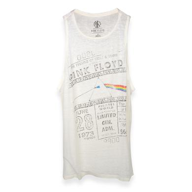 Pink Floyd Women's 6/28/73 Ticket Tank Top