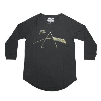 Pink Floyd Dark Side Shimmering Gold Prism Long Sleeve T-Shirt