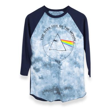 Pink Floyd Dark Side of the Moon 1973 Blue/Grey Raglan