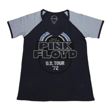 Pink Floyd Ladies 'From England' Football V-Neck Tee