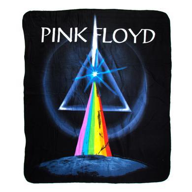 Pink Floyd Dark Side of The Moon Throw Blanket