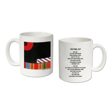 Pink Floyd The Final Cut  Vinyl Collection Mug