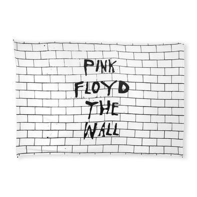 Pink Floyd The Wall Tapestry White Black lettering
