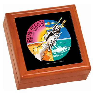 Pink Floyd WYWH Robotic Handshake Wooden Keepsake Box