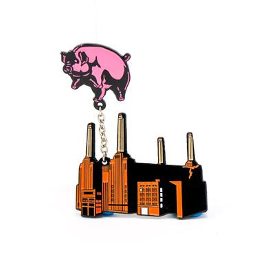 Pink Floyd Animals Flying Pig and Powerstation Pin