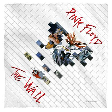 Pink Floyd Roger Waters/The Wall 2-Bandana-White-[22 X 22]
