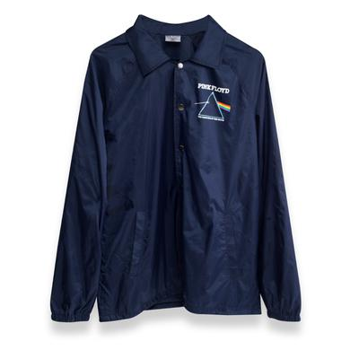 Pink Floyd Dark Side Blue Windbreaker Staff Jacket