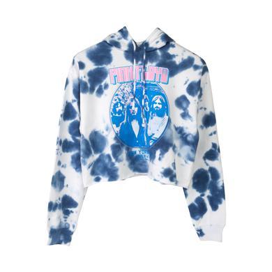 Pink Floyd Tie Dye New York City July 4th Crop Sweatshirt
