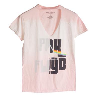 Pink Floyd Split Prism Pink V Cut Shirt