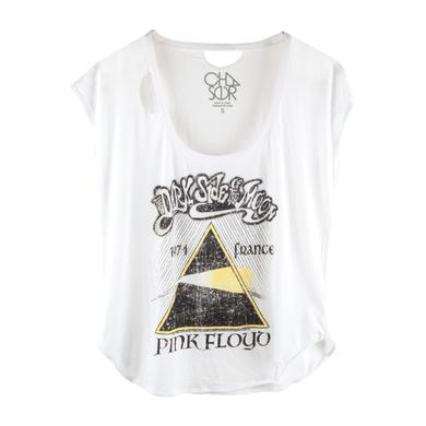 Pink Floyd 1974 Dark Side France Yellow Prism Tank