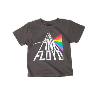 Pink Floyd The Pink Floyd Rainbow Kids Grey T-Shirt