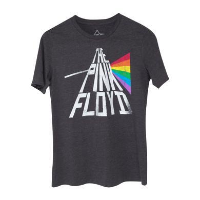 Pink Floyd The Pink Floyd Rainbow Adult Charcoal T-Shirt