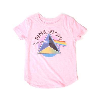 Pink Floyd Kids Ombre Dark Side Prism Pink T-shirt