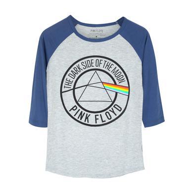 Pink Floyd Pyramid Raglan T Grey/White