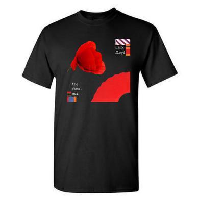 Pink Floyd The Final Cut Cornered Poppy T-Shirt