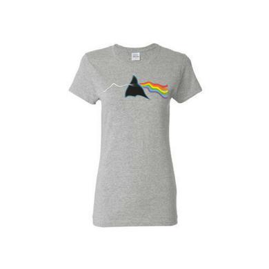 Pink Floyd Prism Variations: Women's Distortion T-Shirt