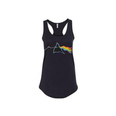 Pink Floyd Prism Variations: Women's Distortion Racerback