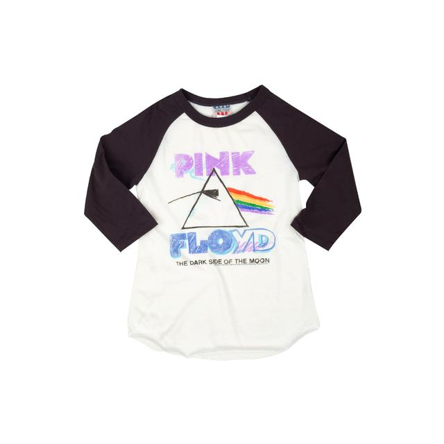 Pink Floyd The Dark Side Of The Moon Colored Logo Raglan