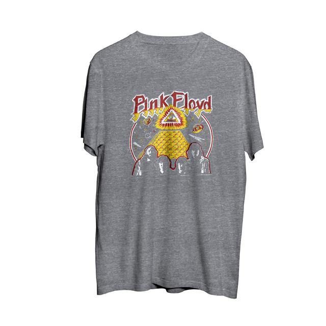 Pink Floyd All Seeing Eye Grey Crewneck T-Shirt