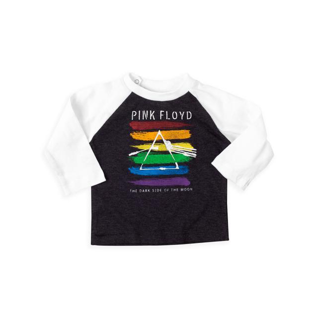 Pink Floyd The Dark Side of the Moon Cartoon Prism Logo Long Sleeve T-shirt