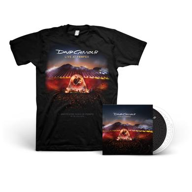 David Gilmour Live At Pompeii - 2-CD + T-Shirt Bundle