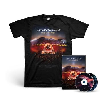 David Gilmour Live At Pompeii - DVD + T-Shirt Bundle