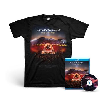 David Gilmour Live At Pompeii - Blu-Ray + T-Shirt Bundle