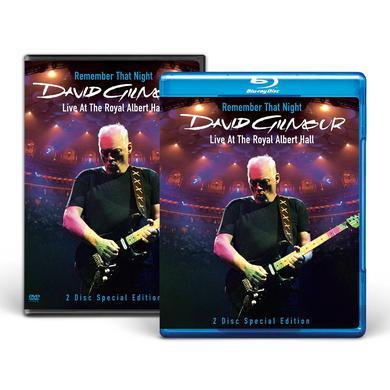 David Gilmour Remember That Night DVD