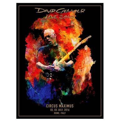 David Gilmour Circus Maximus Lithograph