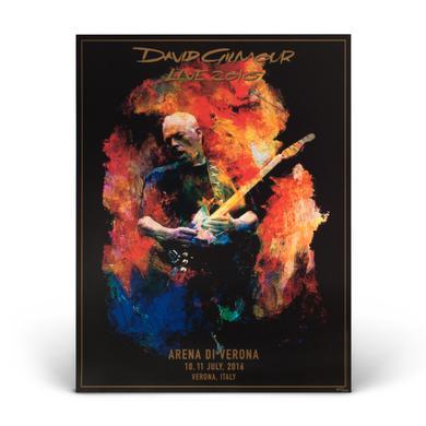 David Gilmour Verona Lithograph