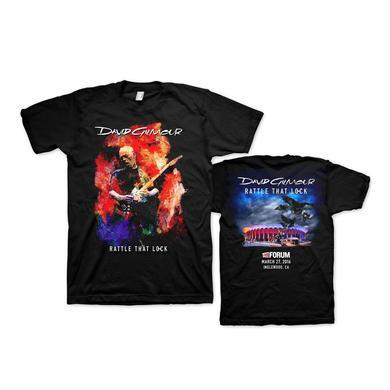 David Gilmour Rattle That Lock Brushstroke Forum T-Shirt