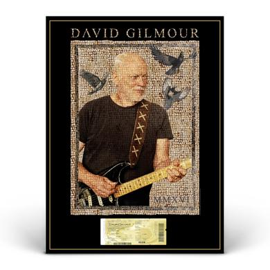 David Gilmour Live at Pompeii Event Mosaic & Ticket Litho